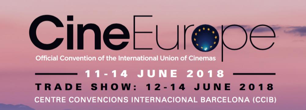 CineEurope 2018 in Barcelona
